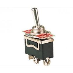 Przełącznik dźwigniowy - 5A - 250V - 3-pozycyjny - ON-OFF-ON - KN3C-103