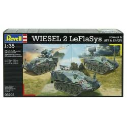 Zestaw czołgów WIESEL 2 LeFlaSys - Revell - 03205