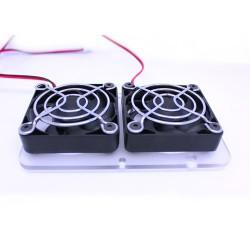 Zestaw chłodzenia 2x wentylator 40x40x10 12V - RAMPS 1.4 - Drukarka 3D