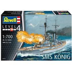 Revell - 05157 - WWI Battleship SMS KÖNIG