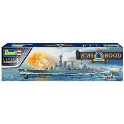 Revell - 05693 - HMS Hood - 100th Anniversary - klej + farby