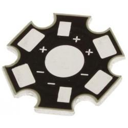 Radiator do LED - STAR - płytka aluminiowa