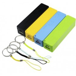 Obudowa do powerbank - na 1 akumulator 18650 - USB 5V 1A - z zawieszką