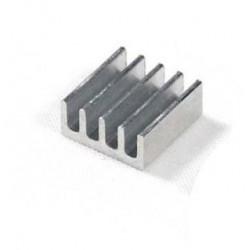 Radiator 9x9x5mm - aluminiowy uniwersalny