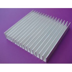 Radiator 100x100x18mm - aluminiowy uniwersalny
