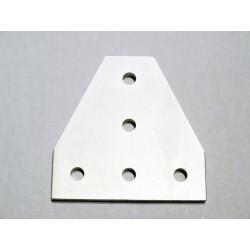 Łącznik T - do profili V-SLOT, T - srebrny