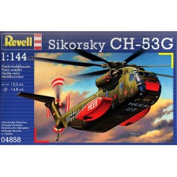 SIKORSKY CH-53G 1:144 - REVELL - Helikopter transportowy - 04858