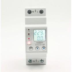 Miernik zużycia energii - szyna DIN - 1-fazowy - max 63A