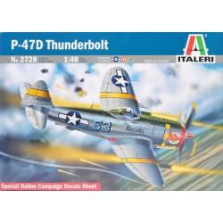 P-47D THUNDERBOLT 1:48 - ITALERI - Samolot wojskowy - 2728