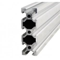 Profil aluminiowy V-SLOT 2060 25cm - anodowany - do drukarek 3D, stelaży, maszyn przemysłowych
