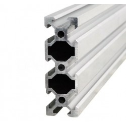 Profil aluminiowy V-SLOT 2060 300cm - anodowany - do drukarek 3D, stelaży, maszyn przemysłowych