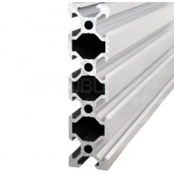 Profil aluminiowy V-SLOT 2080 25cm - anodowany - do drukarek 3D, stelaży, maszyn przemysłowych