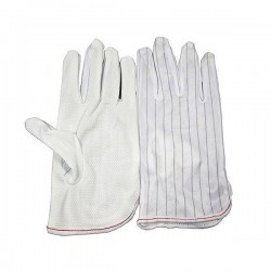 Rękawiczki antystatyczne ESD - antypoślizgowe nakrapiane - 1 para