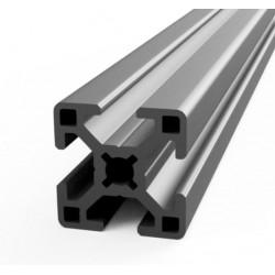 Profil aluminiowy T8 3030 25cm - anodowany - do drukarek 3D, stelaży, maszyn przemysłowych