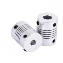 Sprzęgło elastyczne 6,35/8 mm - sprzęgło aluminiowe do drukarki 3D