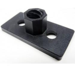 Płytkowa nakrętka do śruby trapezowej 8mm - do wpuszczenia w profil