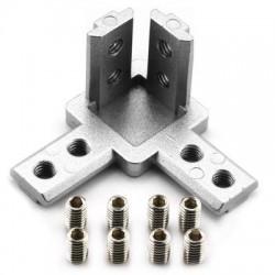 Łącznik kątowy narożny do profili aluminiowych 3030