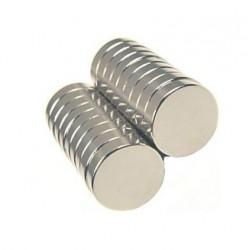 Magnes 10x4mm walcowy N38 - neodymowy