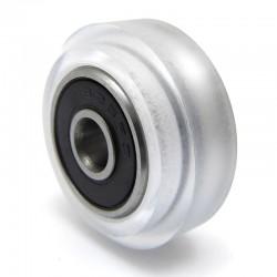 Rolka EXTREME V - V-SLOT, C-BEAM - 5x24,2x10,2mm - oś 5mm - do profili aluminiowych - transparentna