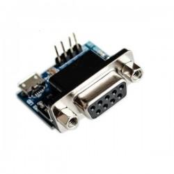 Konwerter RS232-TTL z gniazdem DB9 - SP3232 - złącze micro USB