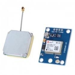 Moduł GPS NEO-6M uBlox UART z anteną - Arduino