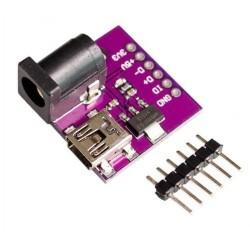 MINI USB power distribution + AMS1117 3,3V, 5V, D+,D-, power outlet Winder