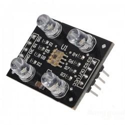 Czujnik kolorów TCS3200 - przetwornik światło na częstotliwość - sensor color