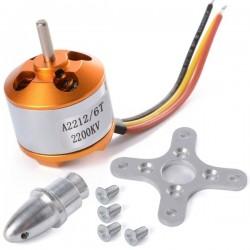 Silnik A2212 2200KV 2-3S - 220W - ciąg 850g