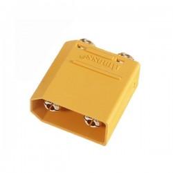 Złącze XT90-PB-M - wtyk prosty - AMASS - konektor męski