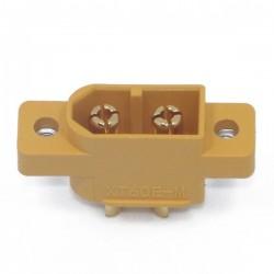 Wtyk XT60E-M - Konektor AMASS - gniazdo wysoko-prądowe - przykręcane