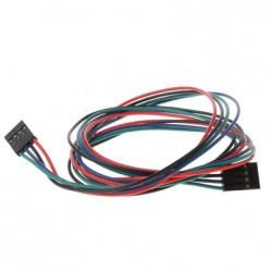 Kabel taśma 4 pin - zworka 70cm - żeńsko-żeńska - do połączenia
