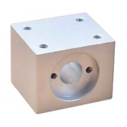 Mocowanie nakrętki śruby trapezowej 8mm - blok aluminiowy