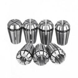Zestaw - Tuleja zaciskowa ER11 7 szt - 1/2/3/4/5/6/7 mm - tulejka - uchwyt do Głowicy zaciskowej C16