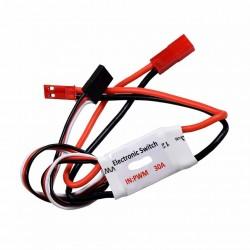 Wyłącznik elektroniczny 5A 3-30V - Switch RC (max 17A) - sterowanie z nadajnika RC