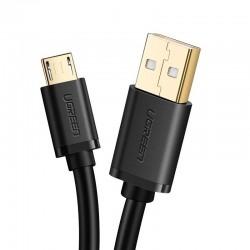 Kabel micro USB wzmacniany - SUNTAIHO - GOLD - 2,4A 5V - 2m