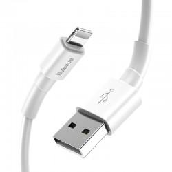 Kabel USB wzmacniany - lightning - iPhone / iPad - 1,5m - czarny