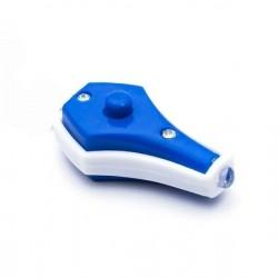 Mini Latarka UV LED - brelok - niebieskie światło - ultrafiolet