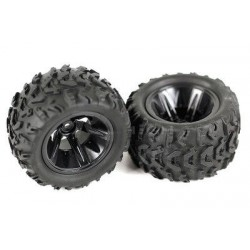 Front Tyres 2pcs - 06009 - Buggy 1:10