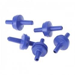Zawór zwrotny 5mm - niebieski - Zaworek przeciwzwrotny do akwarium DIY