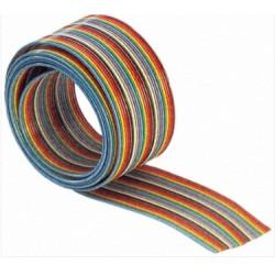 Taśma IDC 10 - 28AWG - 100cm (1mb) kolorowa - do elektroniki - IDC10