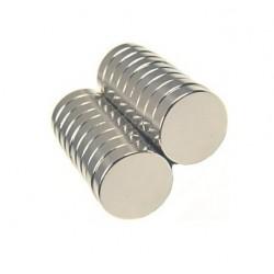 Magnes 6x4mm walcowy N38 - neodymowy