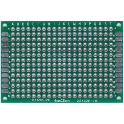Płytka uniwersalna PI23Z 40x60 dwustrona - PCB budowa prototypów