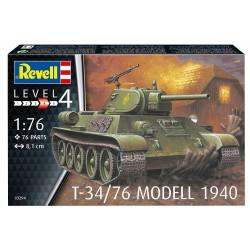 T-34/76 Modell 1940 - Revell - 03294 - Czołg