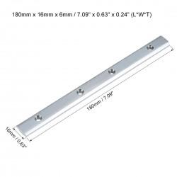 Łącznik prosty do profili aluminiowych 3030 18cm - V-SLOT, T-NUT, TNUT