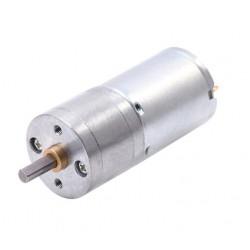 Silnik szczotkowy 12V 500RPM JGA25-370 - z przekładnią - wysoki moment