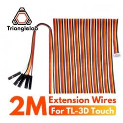 Kabel 3D Touch - 200cm - TriangleLab - długi kabel do czujnika poziomowania - drukarka 3D
