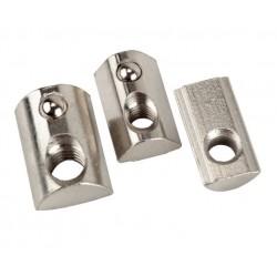 Nakrętka teowa sprężynowa - 4545 T10 M5 - 1 szt - do profili aluminiowych