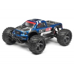 MV28068 - MONSTER TRUCK PAINTED BODY BLUE WITH DECALS ION MT