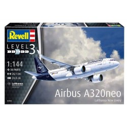 Airbus A320 Neo Lufthansa New Livery - Revell - 03942 - samolot pasażerski
