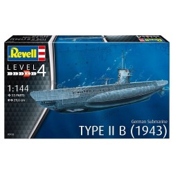 German Submarine Type IIB 1943 - Revell - 05155 - okręt podwodny
